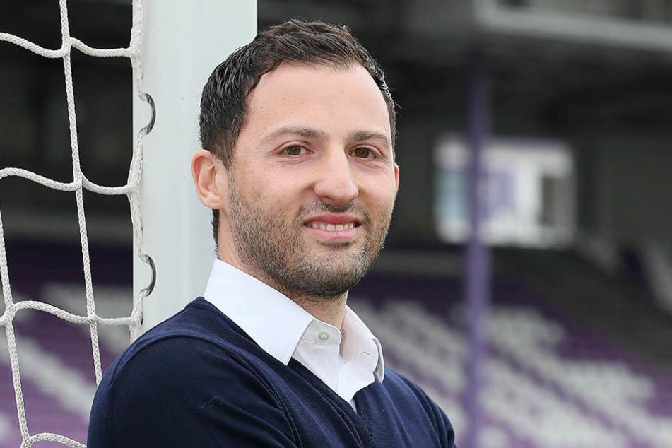 Domenico Tedesco - seit Mittwoch ist er der jüngste Cheftrainer der 2. Bundesliga. Zuvor war er im Nachwuchs der TSG Hoffenheim tätig.