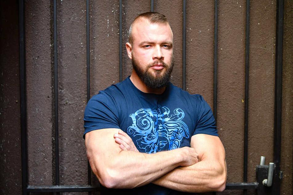 Kollegah (35), alias Felix Blume.