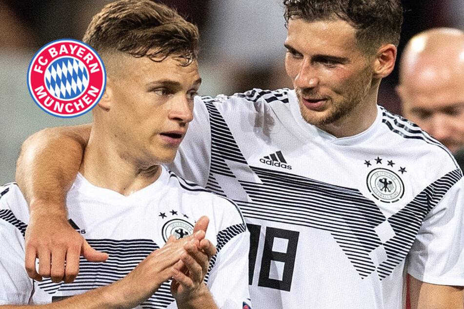 Kampf gegen Corona: Bayern-Stars Kimmich und Goretzka ausgezeichnet