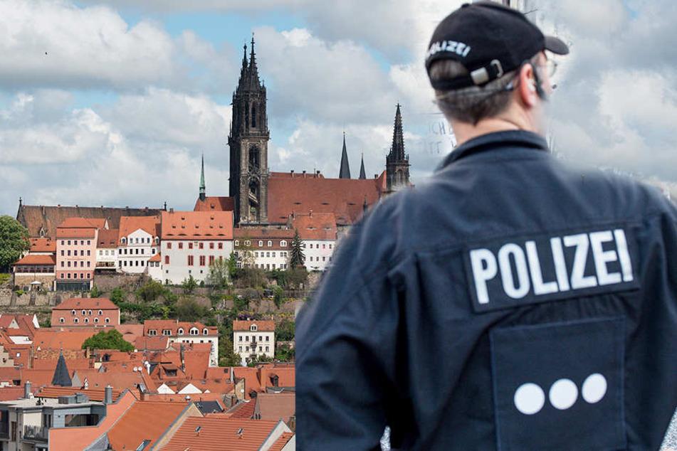 In Meißen kam die Polizei einer Diebesbande auf die Schliche (Bildmontage).