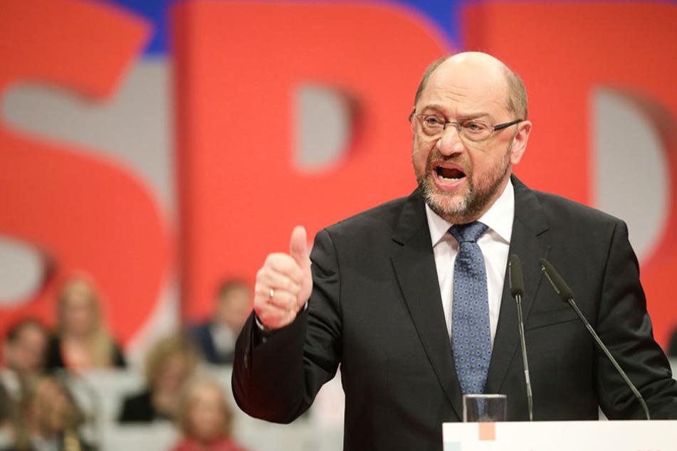 SPD-Chef Schulz will Vereinigte Staaten von Europa