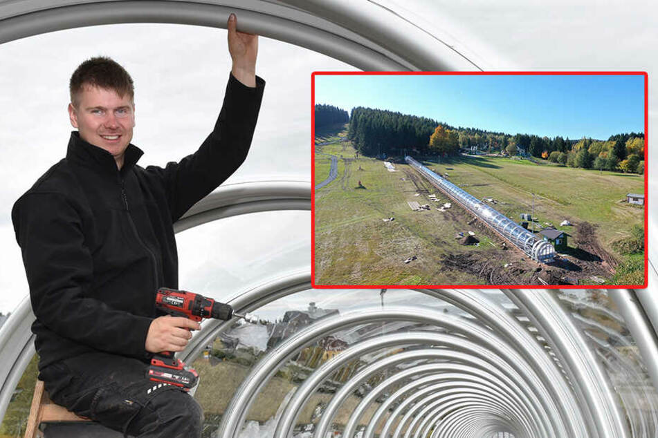 Skifahrer gucken bald in die Röhre: Altenberg rüstet die Pisten auf