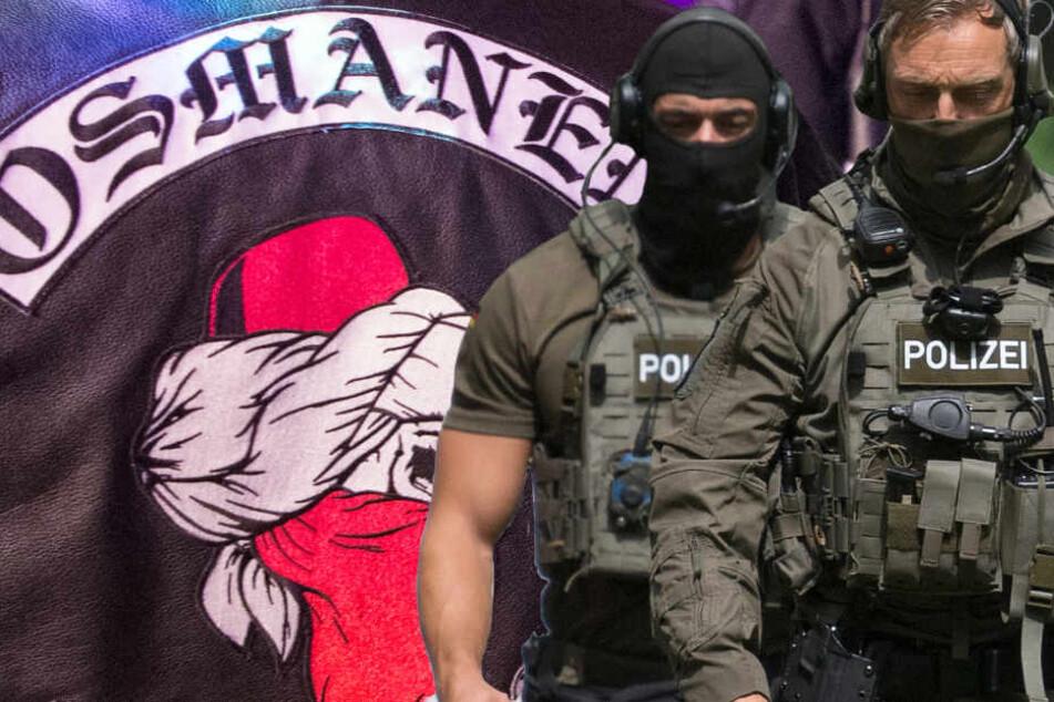"""Die Polizei in Hessen geht gegen die Gruppe """"Osmanen Germania BC"""" vor (Symbolbild)."""