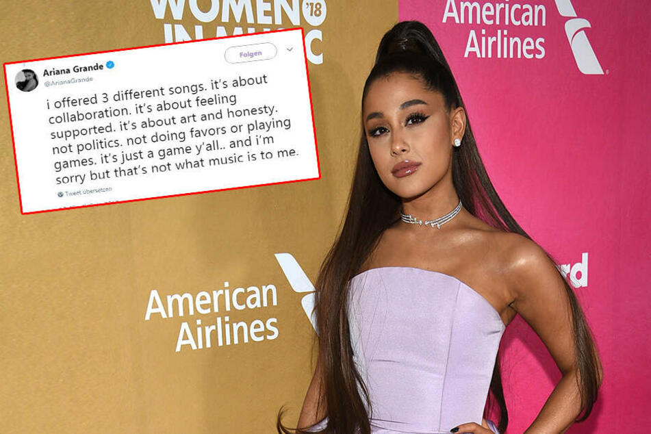 """Ariana Grande schießt auf Twitter scharf: """"Habe meine Klappe gehalten"""""""