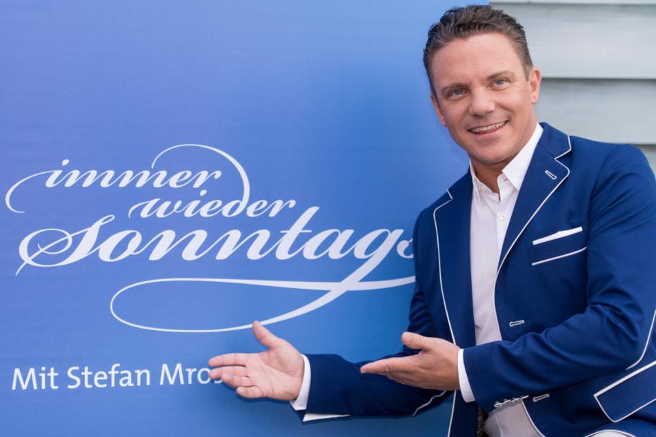 """Stefan Mross ist der Gastgeber von """"Immer wieder sonntags"""" auf ARD."""