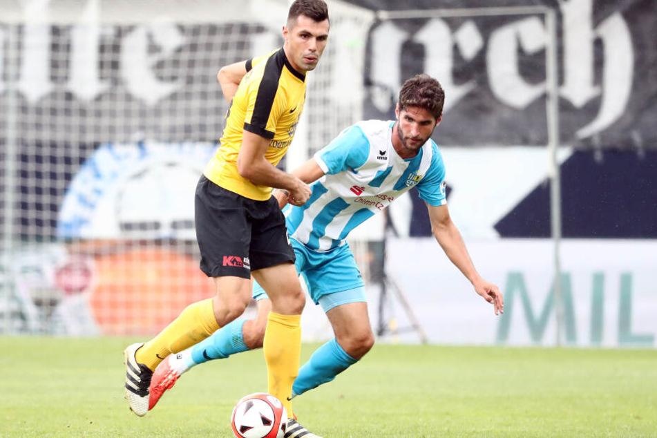 Das Spiel am Samstag gegen den VfB Auerbach muss verlegt werden.