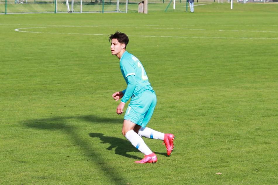 Lucien Littbarski, Sohn von Weltmeister Pierre, glich für den VfL Wolfsburg zum zwischenzeitlichen 1:1 aus. (Archivfoto)