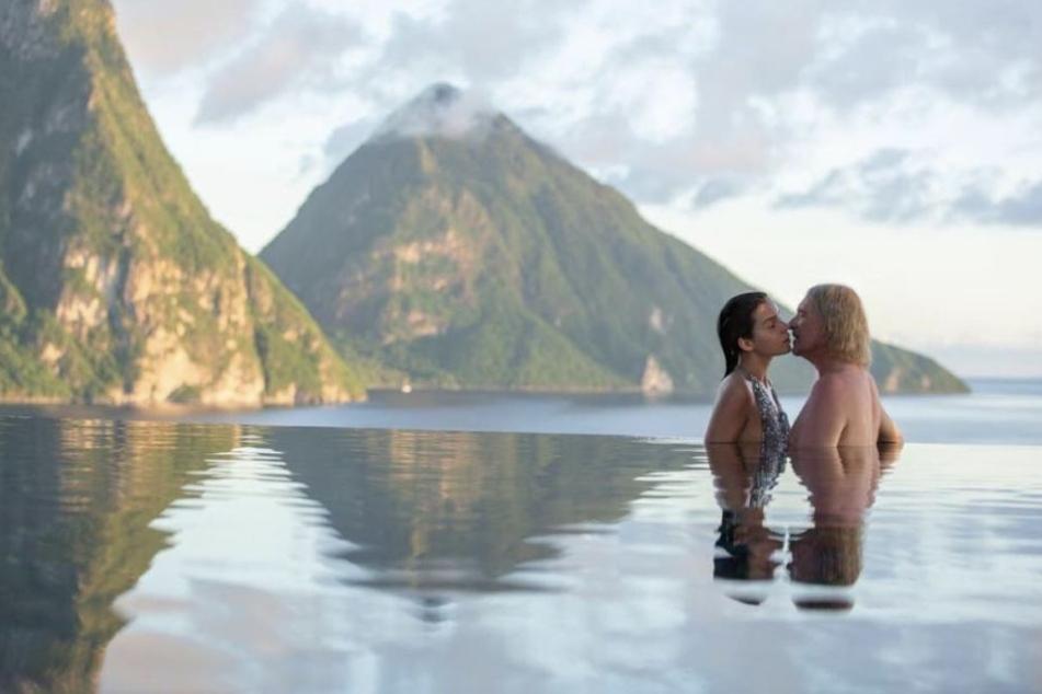 Dieses romantische Bild postete Nathalie Volk auf ihrer Instagram-Seite.