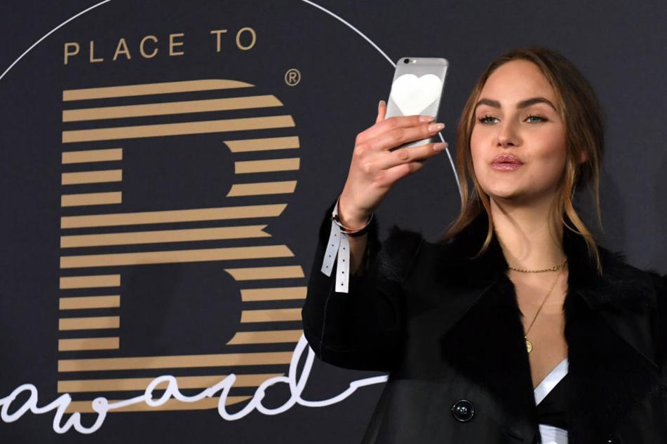"""Durch ihre Teilnahme bei """"Germany's next Topmodel"""" 2016 wurde Elena Carrière bekannt. Seitdem hat sie offenbar einige Kilos verloren."""