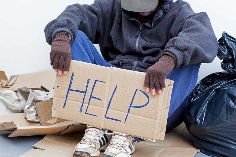 Ein Bettler in Stockholm entpuppte sich als nicht so arm, wie er sich ausgab.