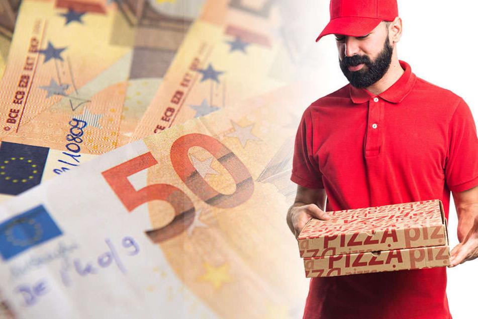 Durch einen aufmerksamen Pizzaboten konnte ein mutmaßlicher Geldfälscher in Neuruppin erwischt werden. (Symbolbild)