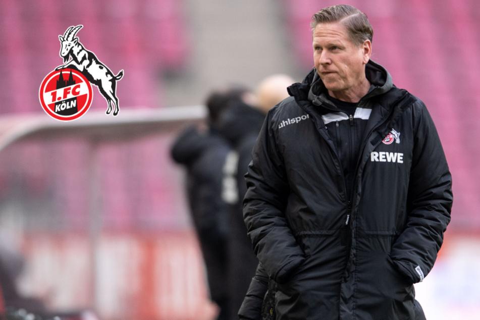 Vor Spiel gegen Hertha: Druck auf FC-Coach Gisdol nimmt zu