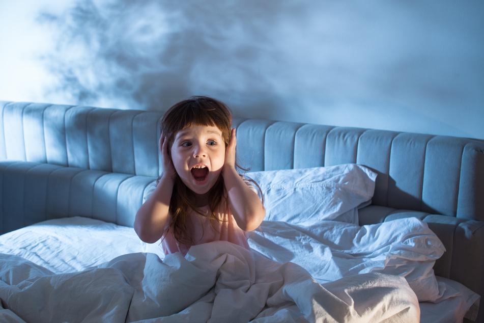 Der Nachtschreck tritt vor allem bei Kindern zwischen drei und sieben Jahren auf. (Symbolbild)