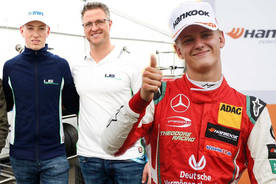 Wie schon Ralf und Michael: Schumacher-Söhne steuern die Formel 1 an