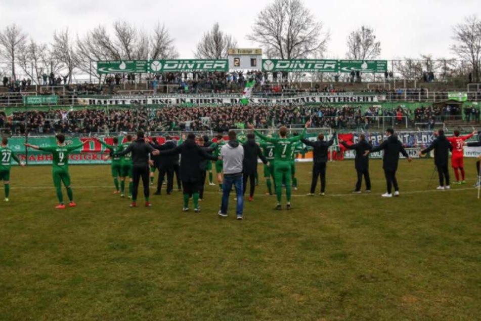 Chemie Leipzig konnte auch das zweite Spiel der Rückrunde für sich entscheiden.