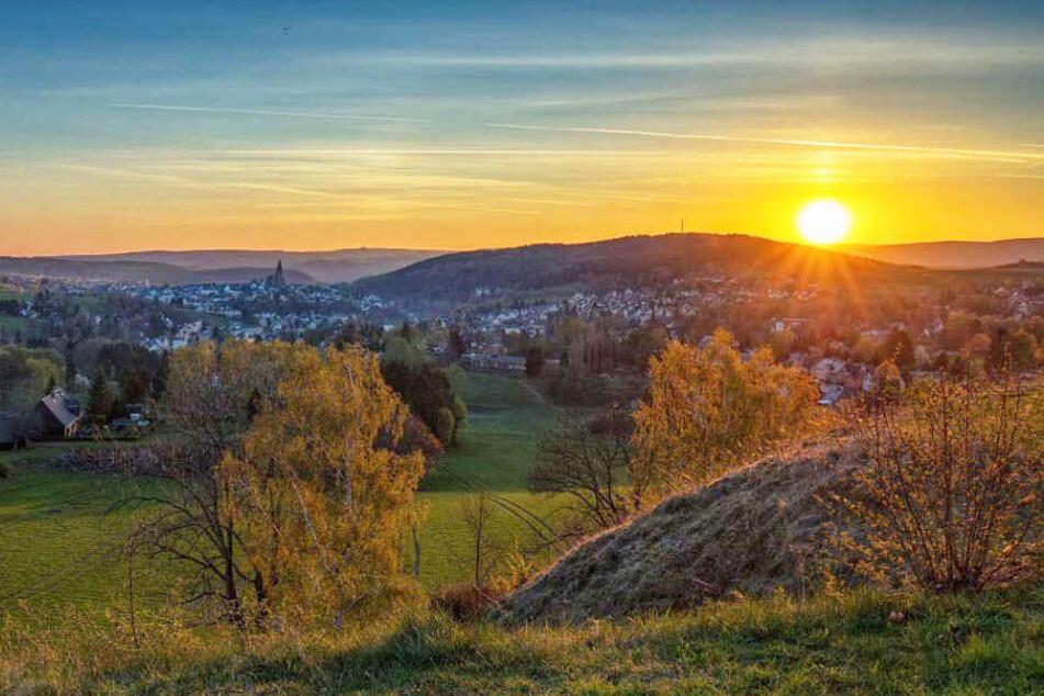 Natur pur im Erzgebirge.