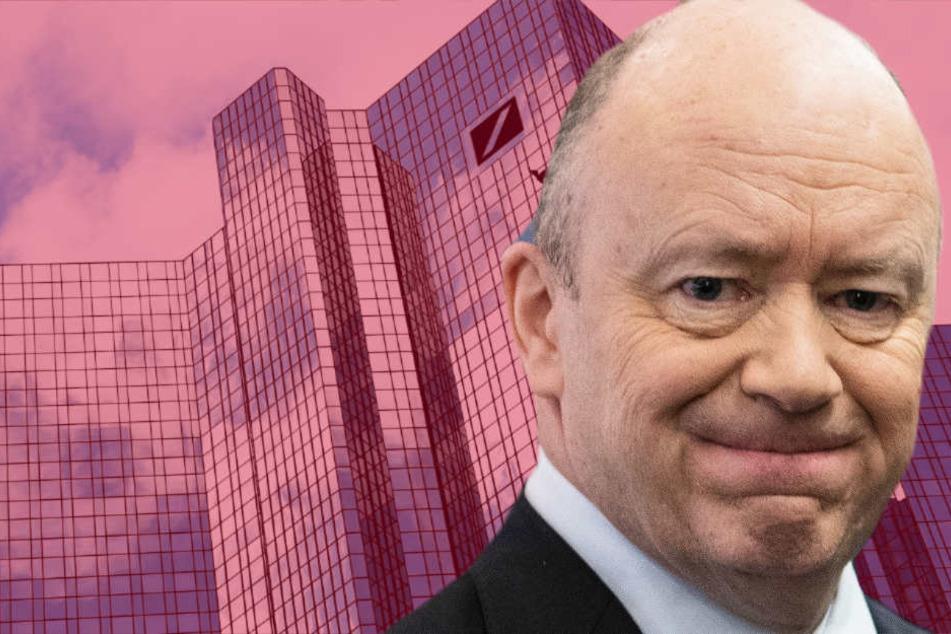Trotz roter Zahlen: Konzernchef John Cryan streicht 3,4 Millionen Euro Gehalt ein.