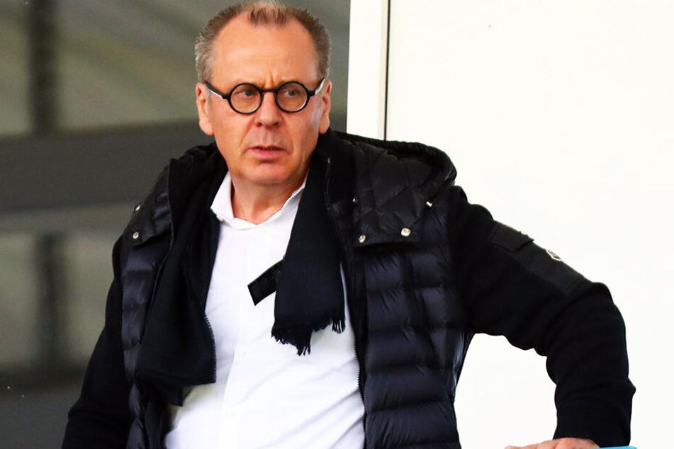 Insolvenzverwalter Klaus Siemon appelliert an die Sponsoren.