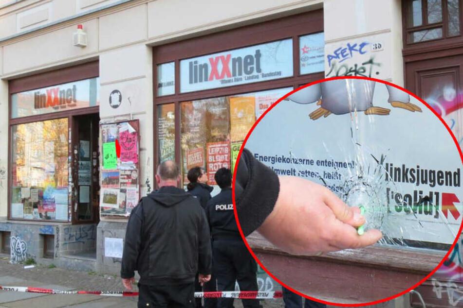Schüsse auf Leipziger Büro der Linken!