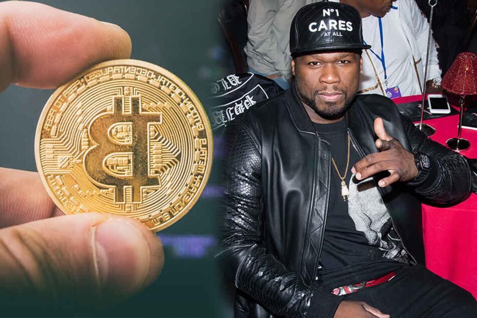 Rapper 50 Cent ist dank Bitcoin wieder im Geschäft.