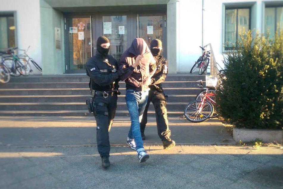 In Berlin konnte ein Verdächtiger festgenommen werden.