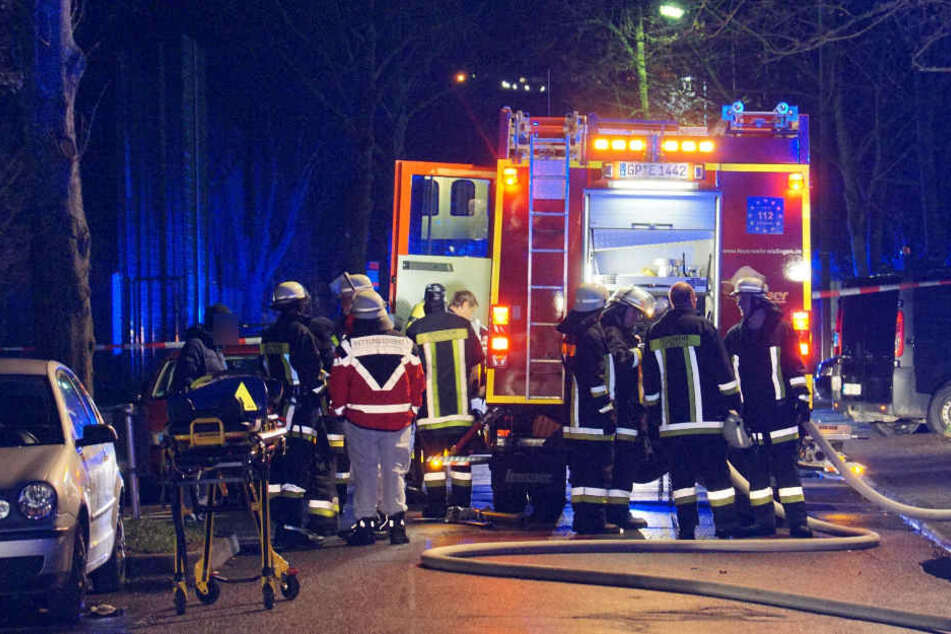 Insgesamt 18 Menschen wurden bei dem Brand verletzt.