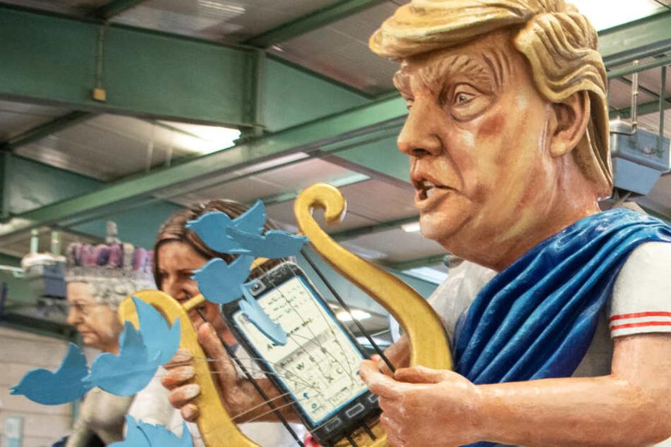 Karneval sehr politisch: Deutliche Kritik an Trump, Johnson und Erdogan