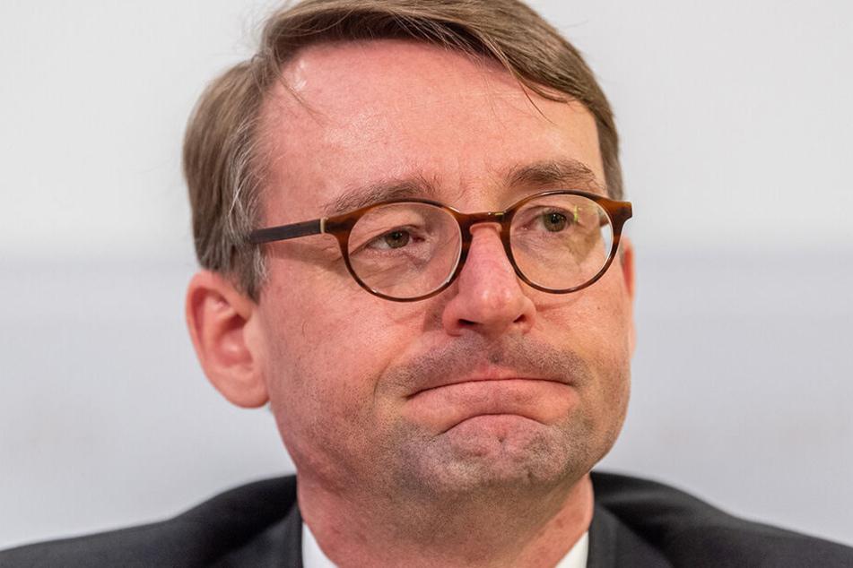 Innenminister Roland Wöller (48, CDU).