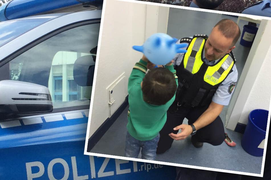 Die Polizei ließ bei der Suche nach den Eltern nichts unversucht. (Bildmontage)