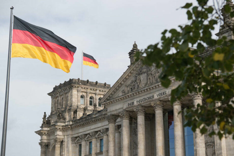 Der Reichstag in Berlin: Symbol der Wiedervereinigung.