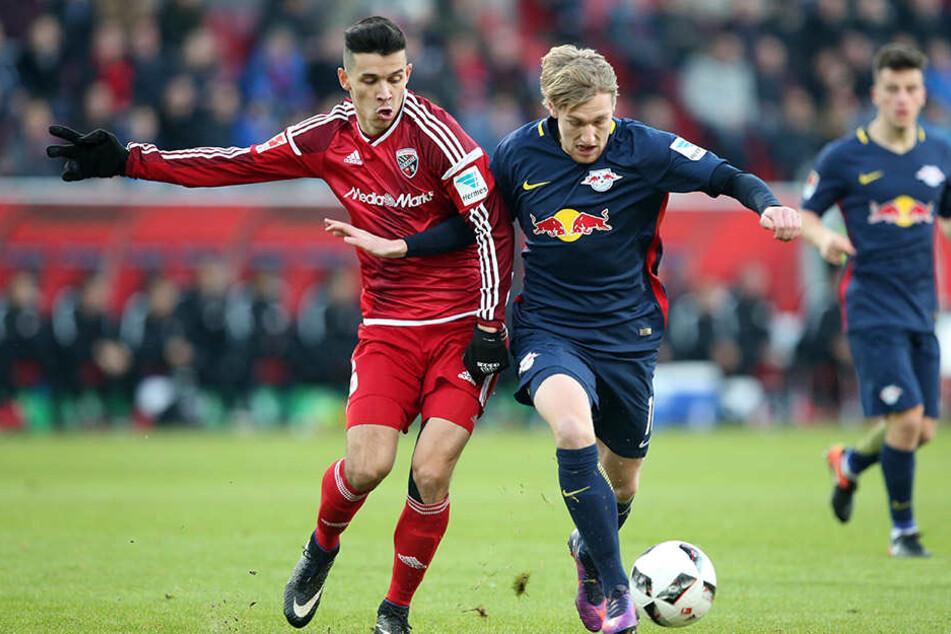 Leipzig stellt sich auf ein kampfbetontes Spiel gegen den abstiegsbedrohten FC Ingolstadt ein.