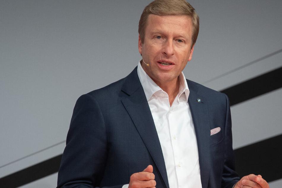 """BMW-Boss bläst zum Kampf gegen CO2: """"Wir werden unsere Ziele erreichen"""""""