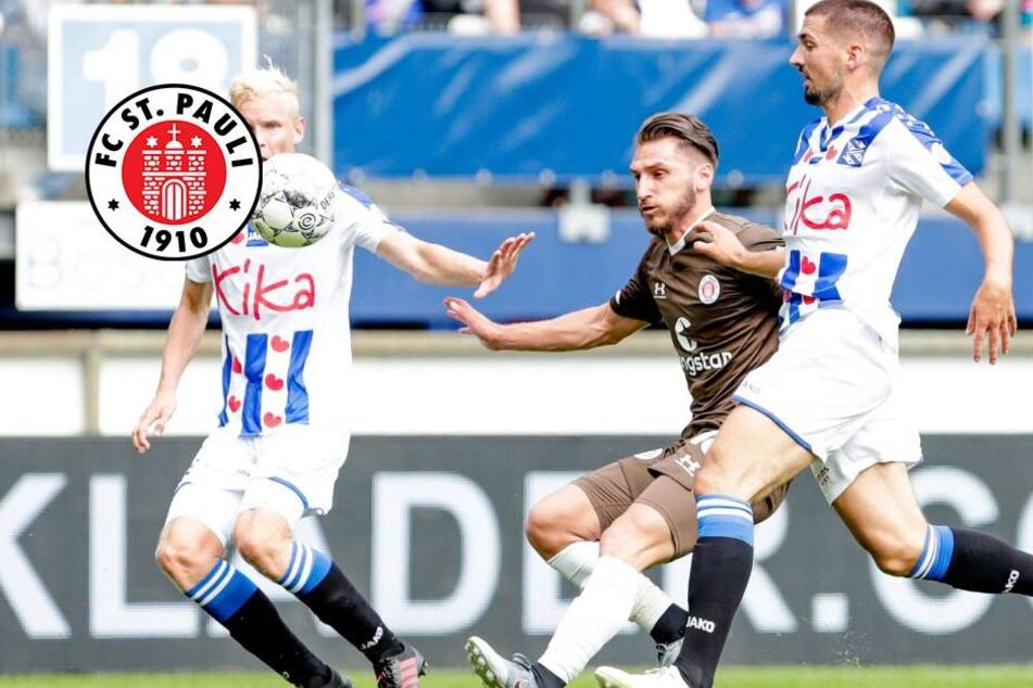 St. Pauli erkämpft sich Remis bei Niederländischem Erstligisten