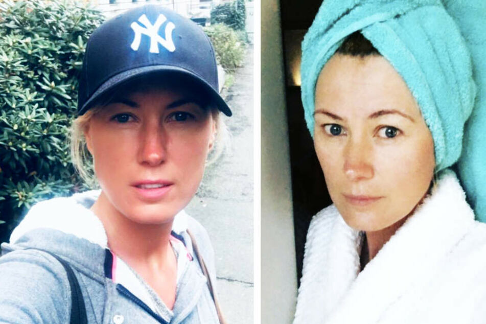 Hat keine Probleme, sich ungeschminkt zu zeigen: Brisant-Moderatorin Kamilla Senjo (44).