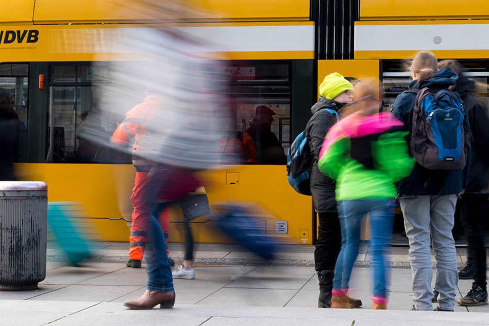Passagier-Rekord bei den DVB: Diese Linien haben die meisten Mitfahrer