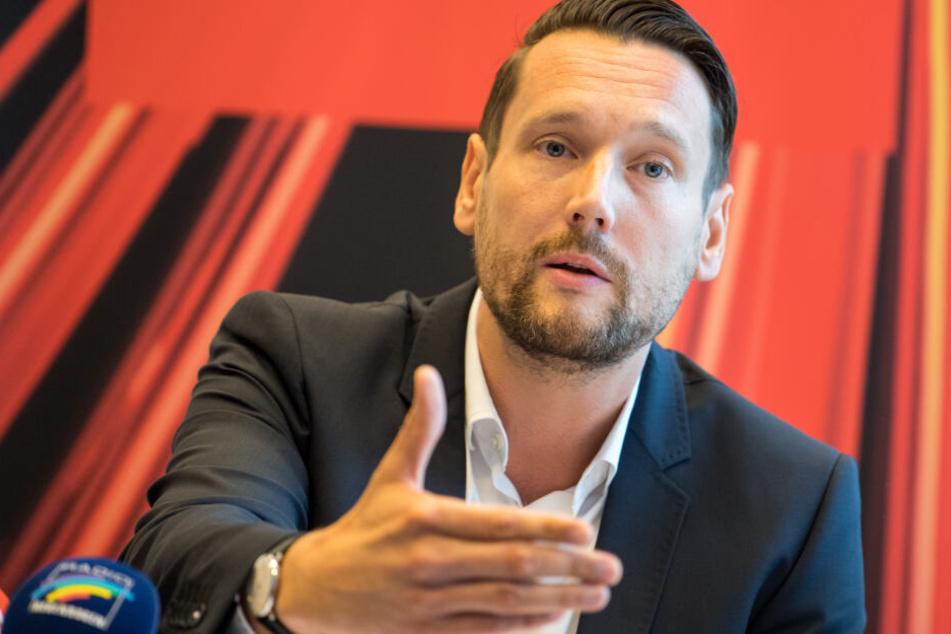 Der rheinland-pfälzische SPD-Generalsekretär Daniel Stich.
