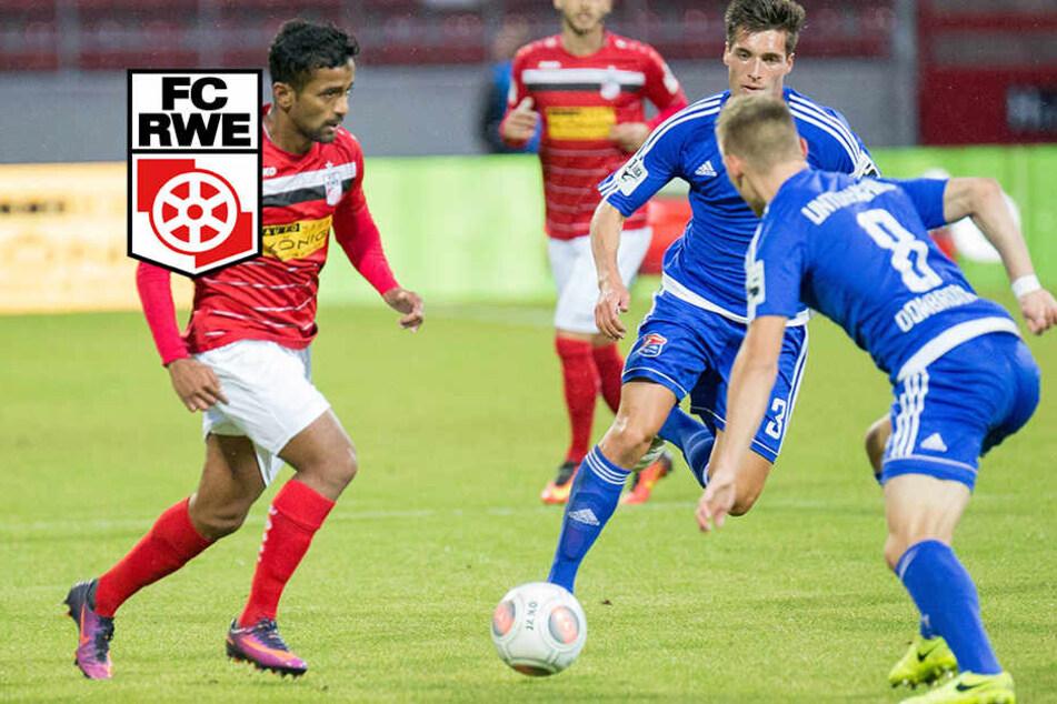 Rot-Weiß Erfurt verpasst dritten Saisonsieg: 0:2 gegen Unterhaching