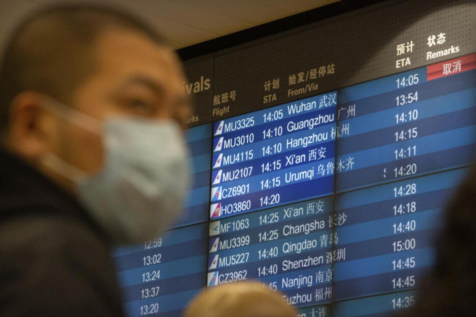 Wegen des Coronavirus wurden alle Direktflüge zwischen Peking und Berlin gestrichen (Symbolbild).