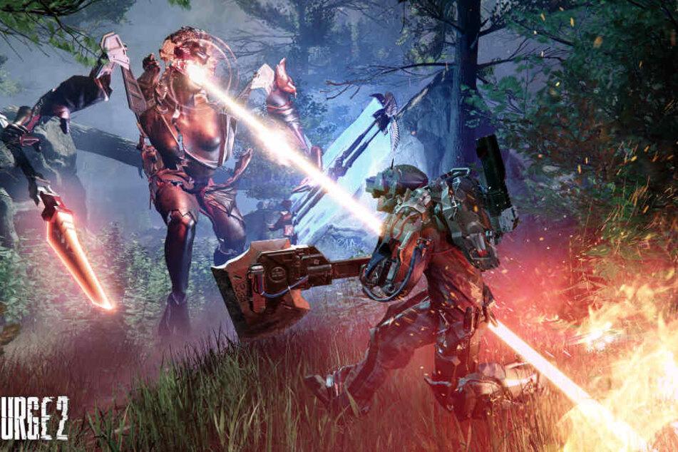 Die Gegner sind fordernd, die Kämpfe knüppelhart: Deck13 hat die Prinzipien des Souls-Likes verstanden und setzt diese gekonnt um.