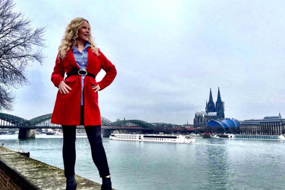 Katja findet den Kölner Dom besonders schön.