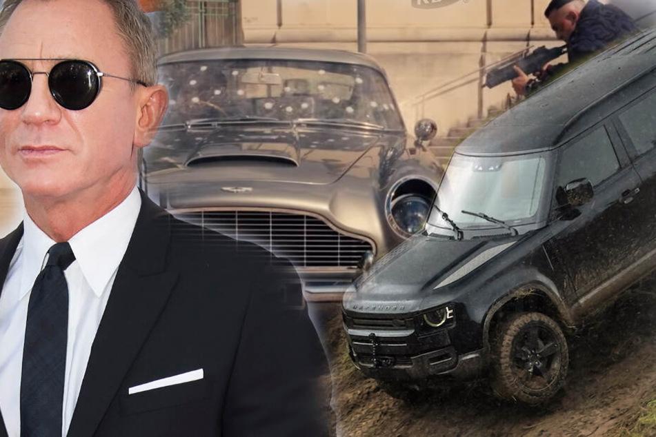 Legendäre Autos im neuen James Bond! Erste Fotos und Videos veröffentlicht