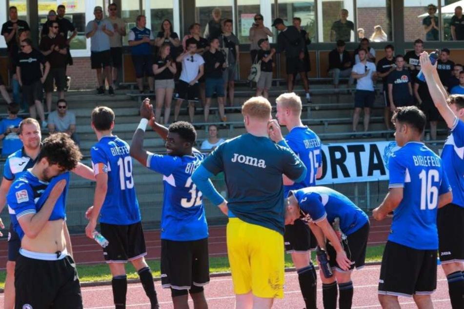 Für Arminias U23 gibt es erstmal kein Comenback.