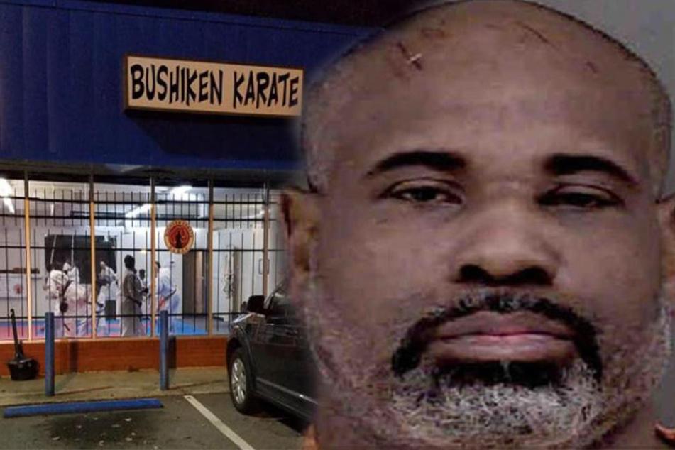 Der Angreifer verfolgte die Frau bis ins Karatestudio und ließ nicht locker.