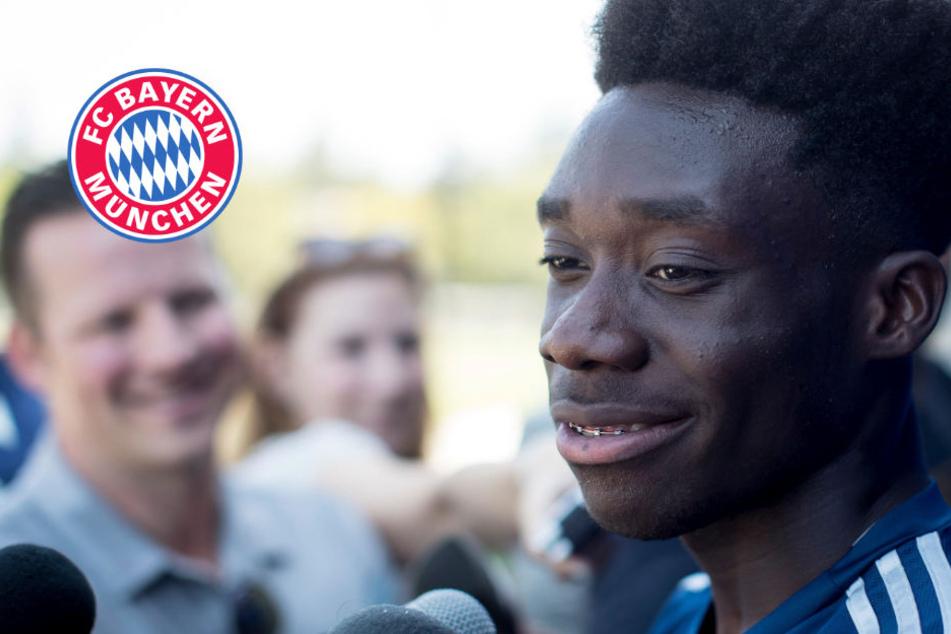 Alphonso Davies bei Bayern: Neue Impulse durch Mega-Talent (17)?