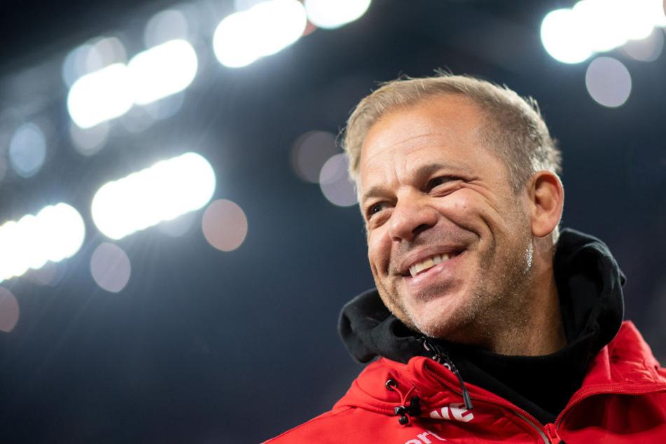 FC-Trainer Markus Anfang (44) passte sein System zuletzt erfolgreich an.
