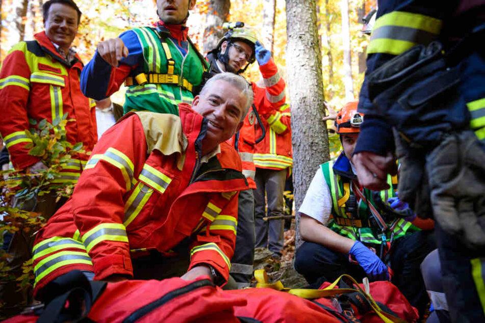 Baden-Württembergs Innenminister Thomas Strobl nimmt in Tübingen an einer Katastrophenschutz-Großübung im Naturpark Schönbuch teil. Heute muss sich dieser zur aktuellen Entwicklung der Feuerwehr äußern. (Archivbild)