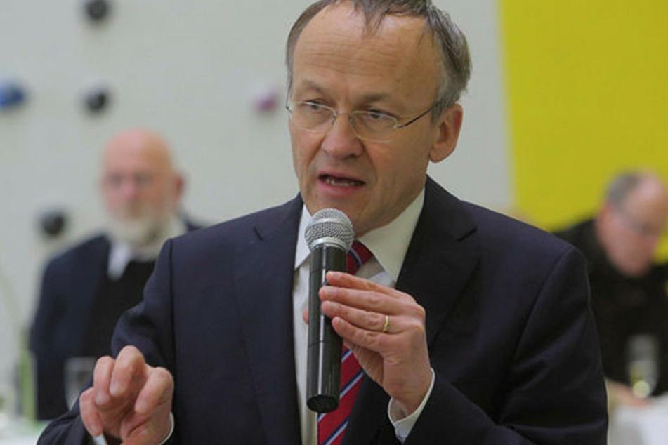 Finanzbürgermeister Peter Lames (52, SPD) kritisiert den Zuschlag.
