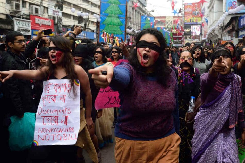 Als Reaktion auf Vergewaltigungen kommt es in Indien immer wieder zu Protesten gegen sexuelle Gewalt gegenüber Frauen.