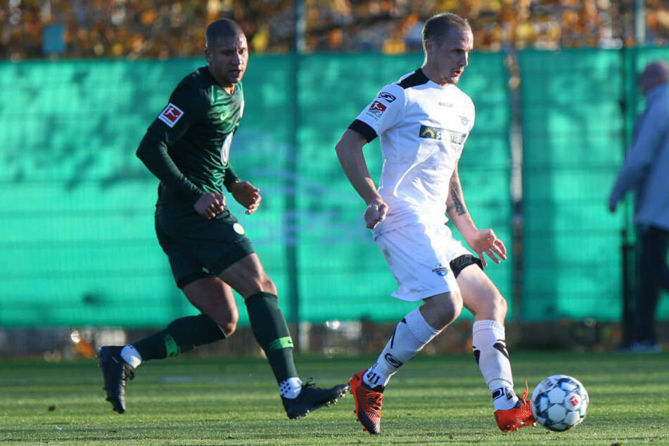 Julius Düker sicherte dem SCP gegen Wolfsburg die Führung.
