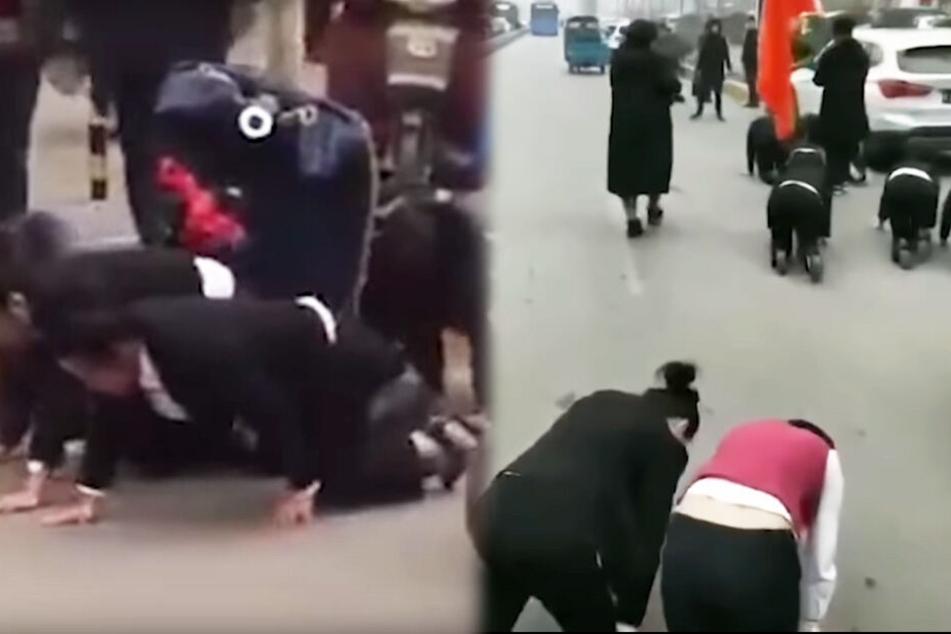 Chef bestraft Mitarbeiterinnen in aller Öffentlichkeit